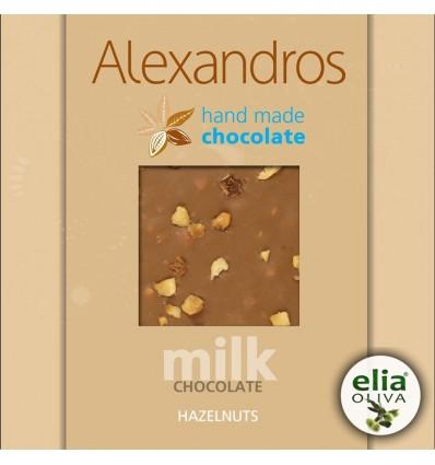 Mliečna čokoláda s lieskovcami 90gr